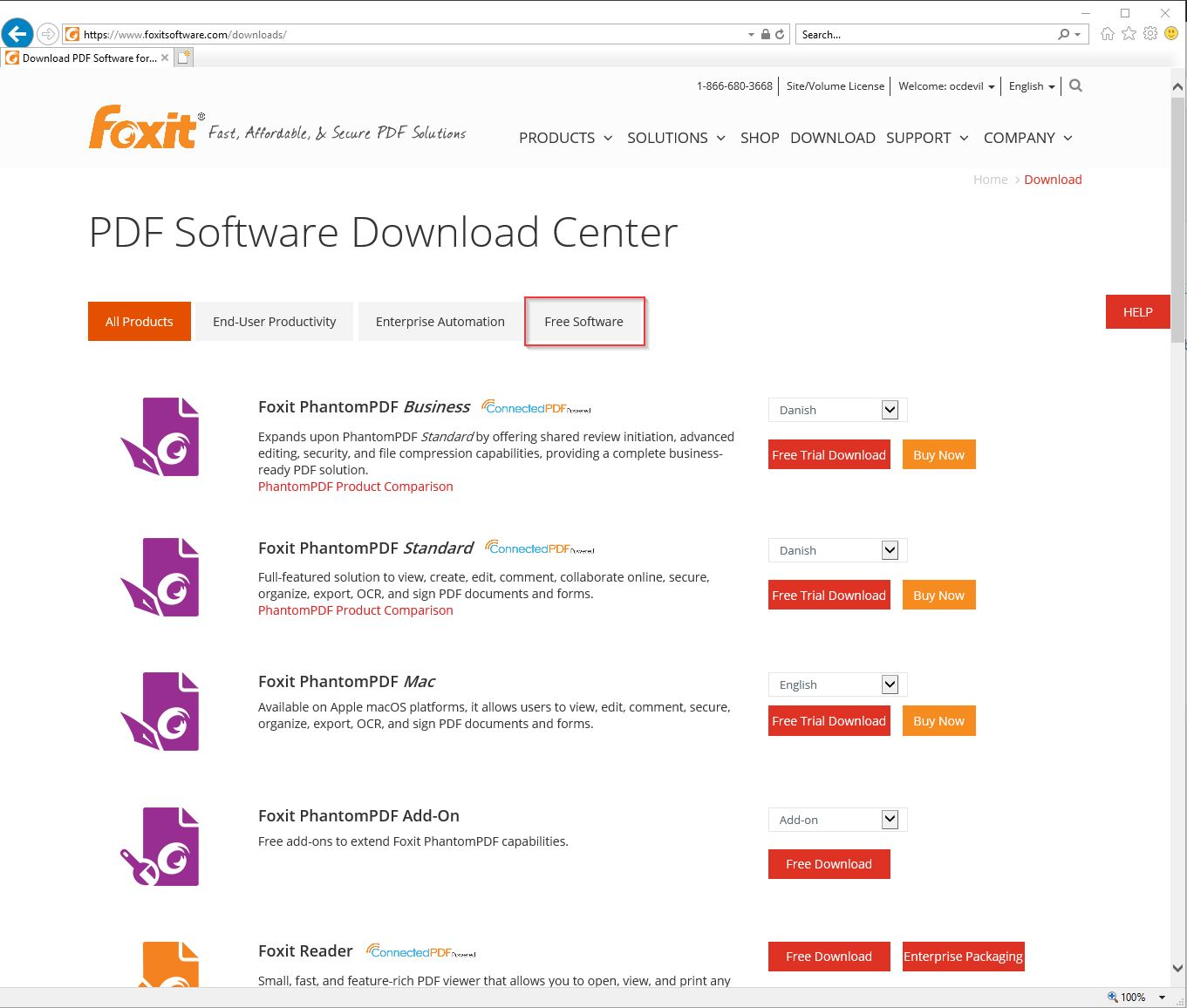 download foxit reader full serial number